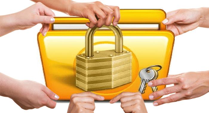Как открыть общий доступ к папкам на windows 7?