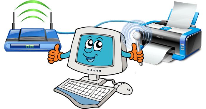 подключение принтера к роутеру tp link