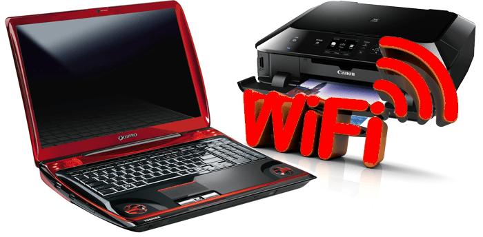 Подключение принтера к ноутбуку через wifi