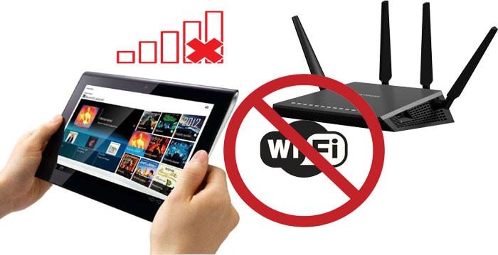 Планшет не видит wifi: что делать?