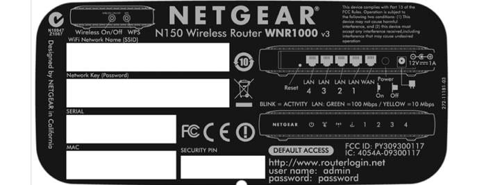 настройка роутера netgear n150 wnr1000