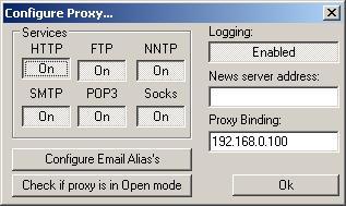 раздача интернета по сети с помощью прокси-сервера