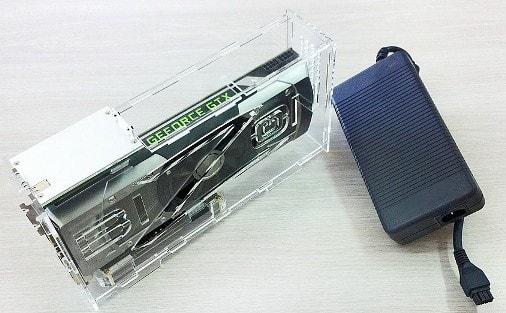 переходник для подключения видеокарты от компьютера к ноутбуку