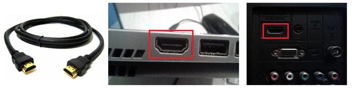 что делать, если подключил ноутбук к телевизору через hdmi а звук идет с ноутбука