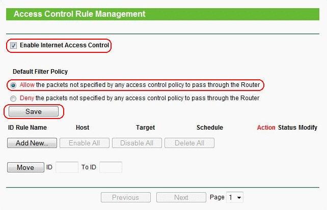 как заблокировать доступ к сайту через роутер