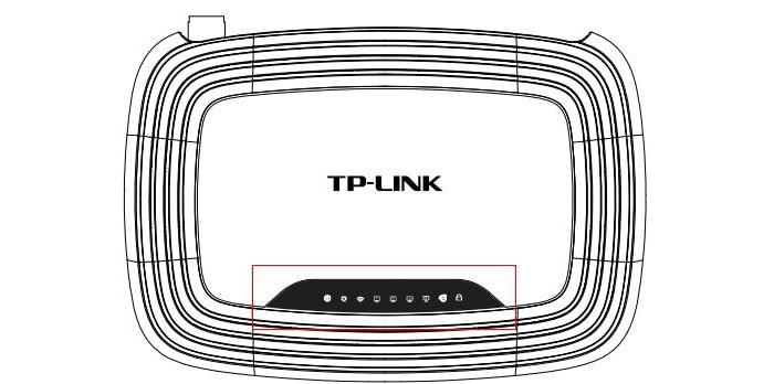 модель tl wr741n tl wr741nd
