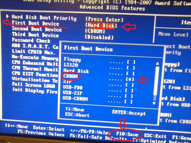 как полностью переустановить windows 7