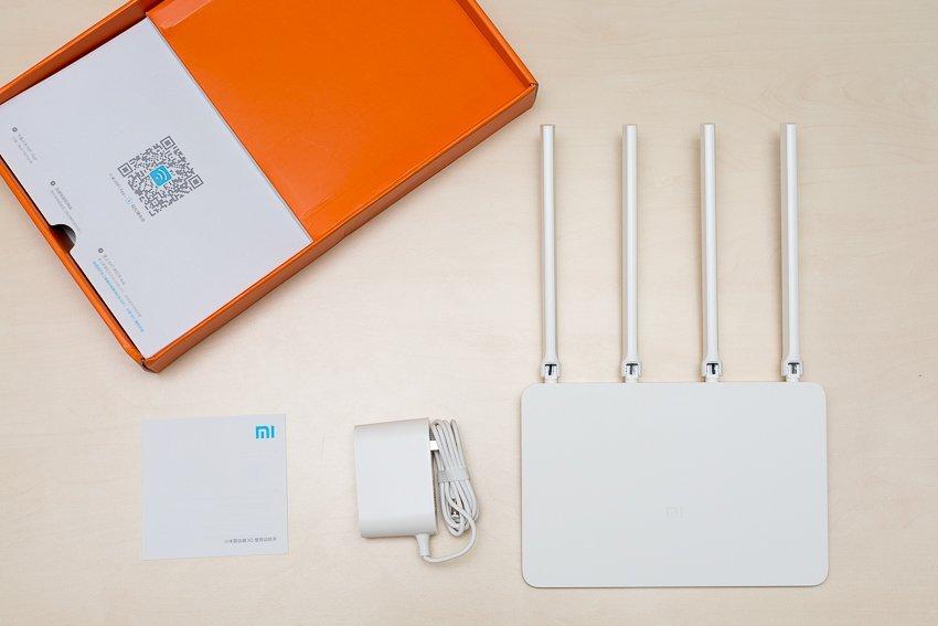 Распакованный Xiaomi Router 3G