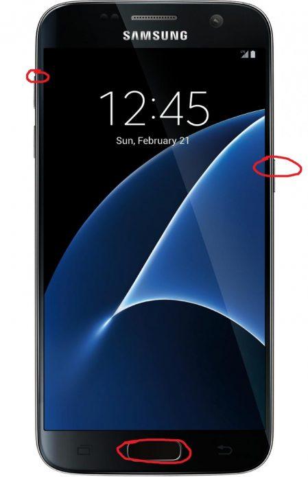 Сброс для Samsung