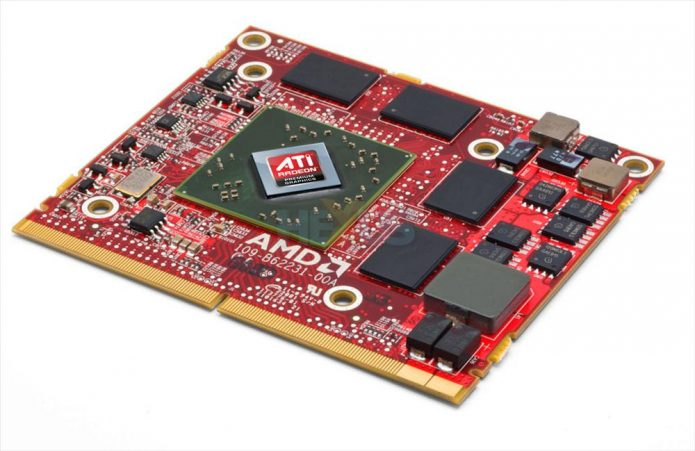Мобильная видеокарта ATI Mobility Radeon HD 5650