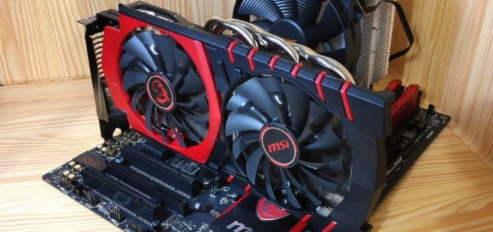 Дискретная видеокарта MSI GeForce GTX 960 Gaming 2G