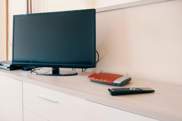 Подключение модема к телевизору
