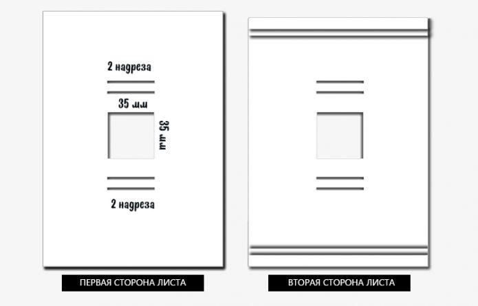 Схема для создания фиксатора
