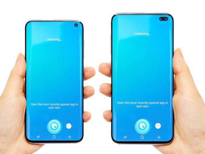 Дизайн Samsung Galaxy S10