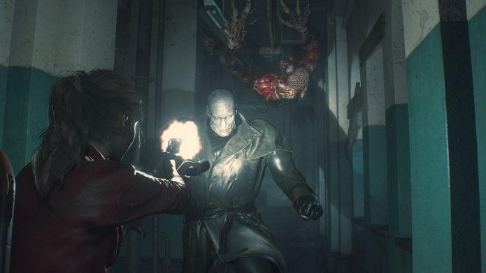 Стрельба в Resident Evil