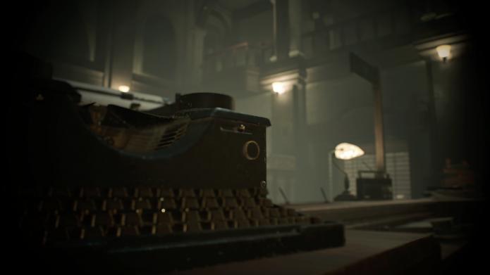 Печатная машинка Resident Evil