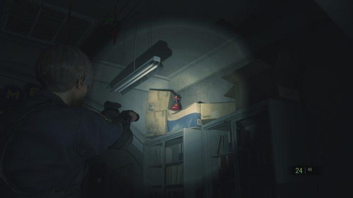 Фигурка енота в Resident Evil 2 Remake