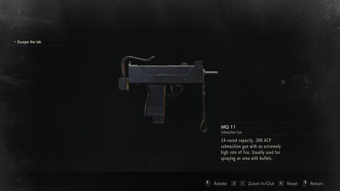 Пистолет пулемёт MQ 11