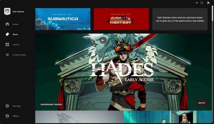 Игры в Epic Games Store