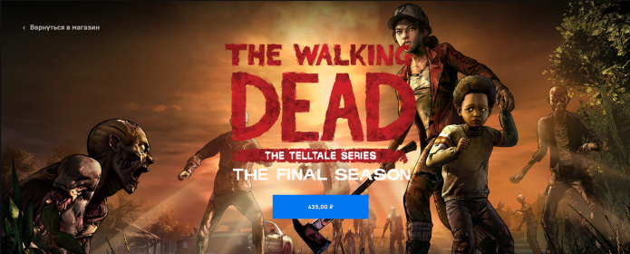 Walking Dead Final Season в Epic Games Store
