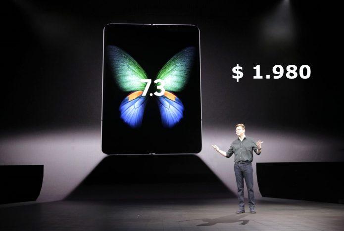Джастин Денисон на презентации смартфона объявил его цену - $1.980