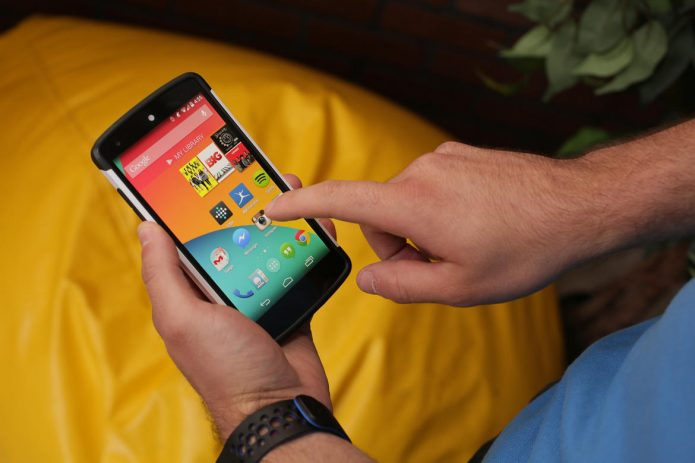 Телефон на «Андроиде»