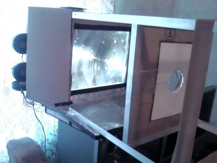 Проектор из ноутбука