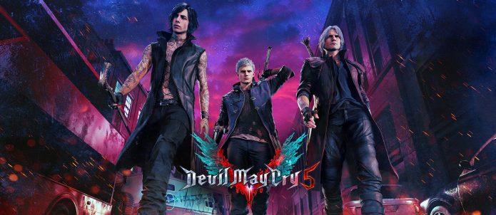 Devil May Cry 5 постер