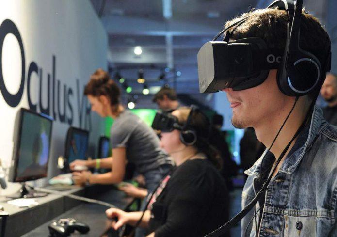 Игроки в Oculus Rift