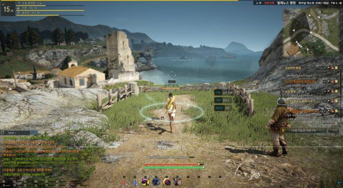 Скриншот геймплея BDO