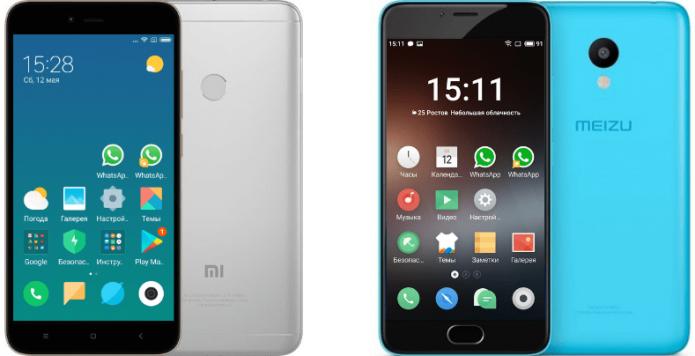 Meizu и Xiaomi