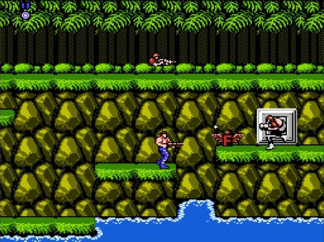 Contra на NES
