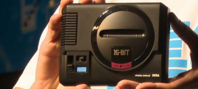 Размер Sega Mega Drive Mini