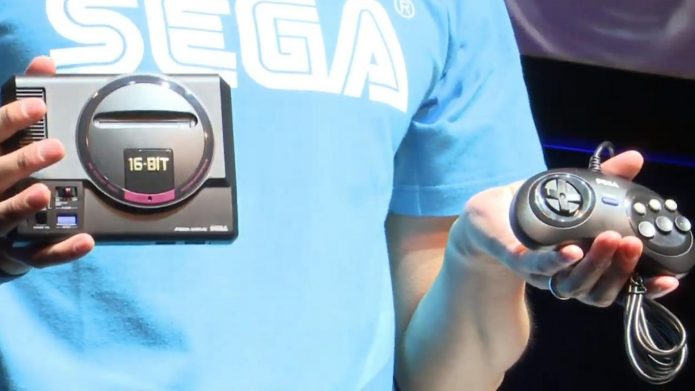 Контроллер Sega Mega Drive Mini