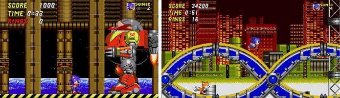 Игровой процесс Sonic The Hedgehog 2 Classic
