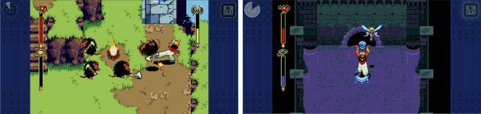 Игровой процесс Beyond Oasis Classic