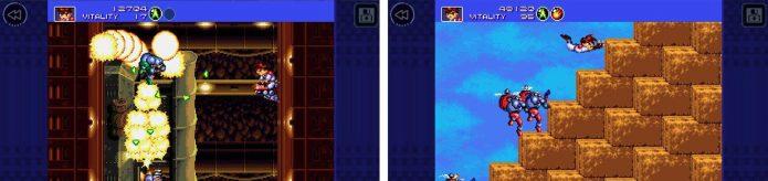 Игровой процесс Gunstar Heroes Classic