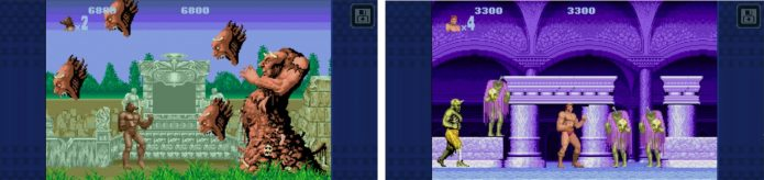 Игровой процесс Altered Beast Classic