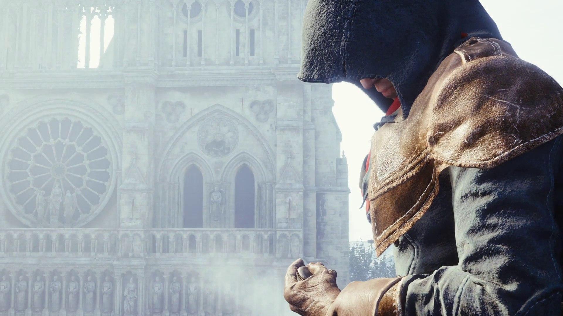 Ubisoft восстановит сгоревший Нотр-Дам