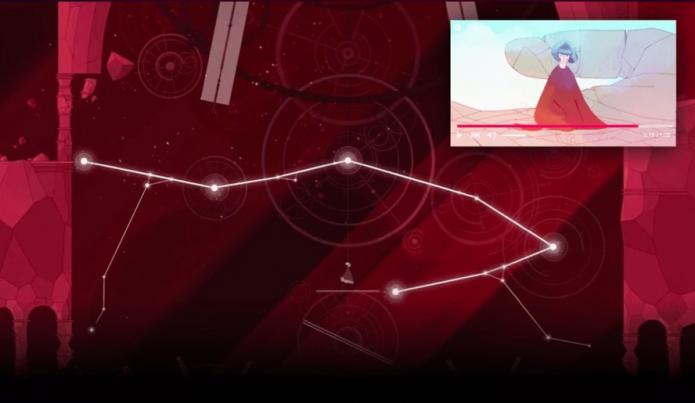Видео поверх игры