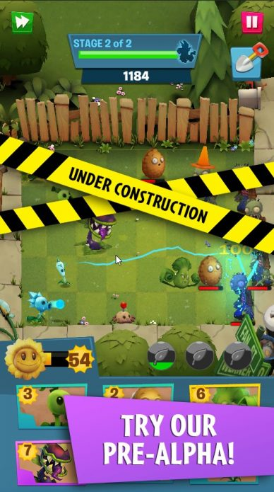 Альфа тест Plants vs Zombies 3