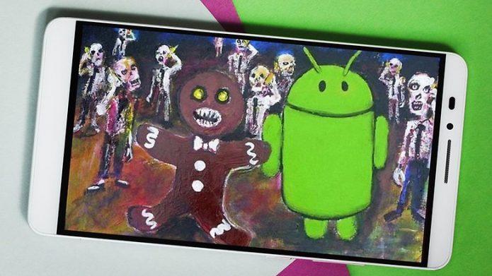 Пасхалка Android 2.3 Gingerbread