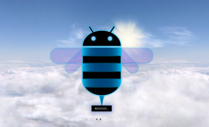 пасхалка Android 3.0 Honeycomb
