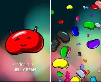 Пасхалка Android 4.1 Jelly Bean