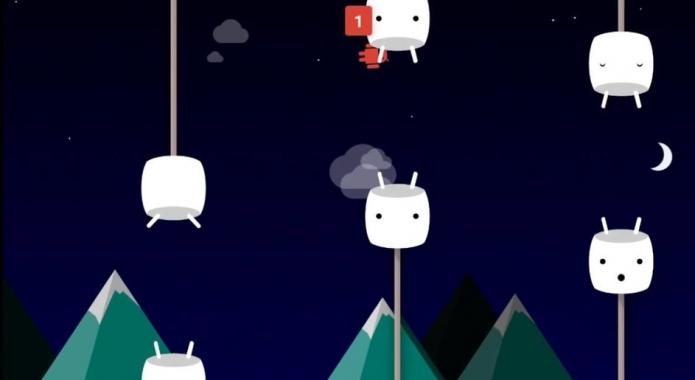 Пасхалка Android 6.0 Marshmallow