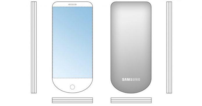 Патент смартфона-веера от Samsung