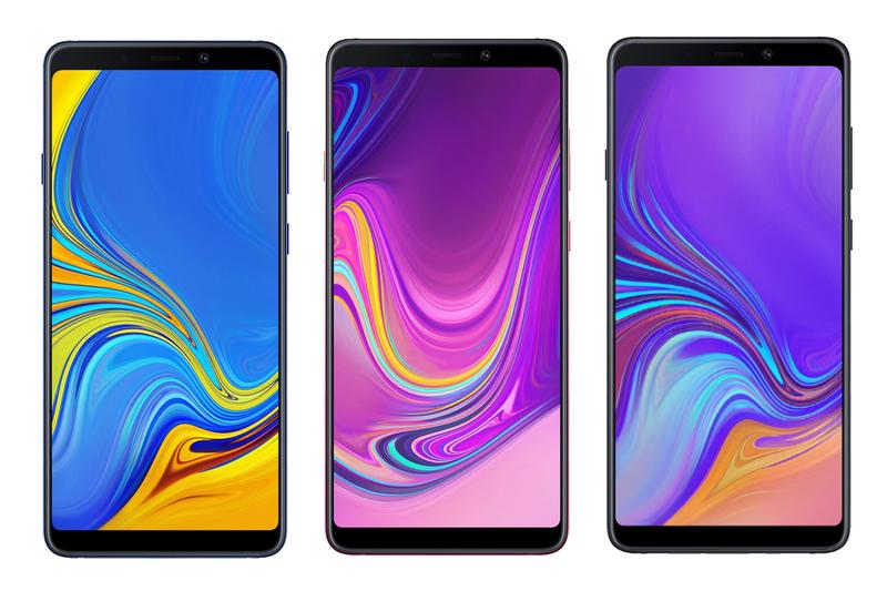 Samsung решили удивить всех и придумали телефон в виде веера