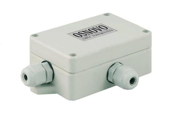 Уличное устройство грозозащиты OSNOVO в герметичном корпусе
