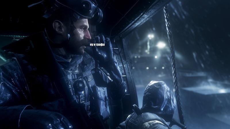 NVIDIA показала кадры из новойCall of Duty: Modern Warfare