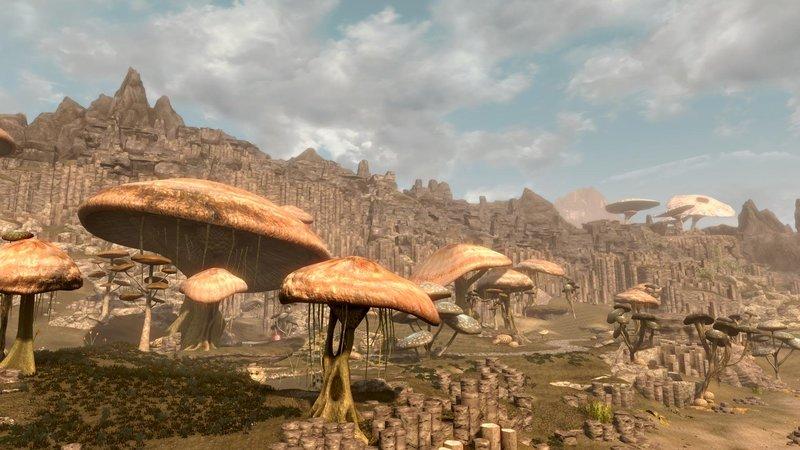 В Сети появился демо-геймплей Skywind на новом движке